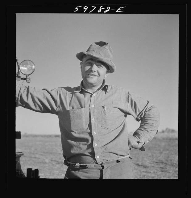 Bean thresher. North Platte River Valley, Nebraska