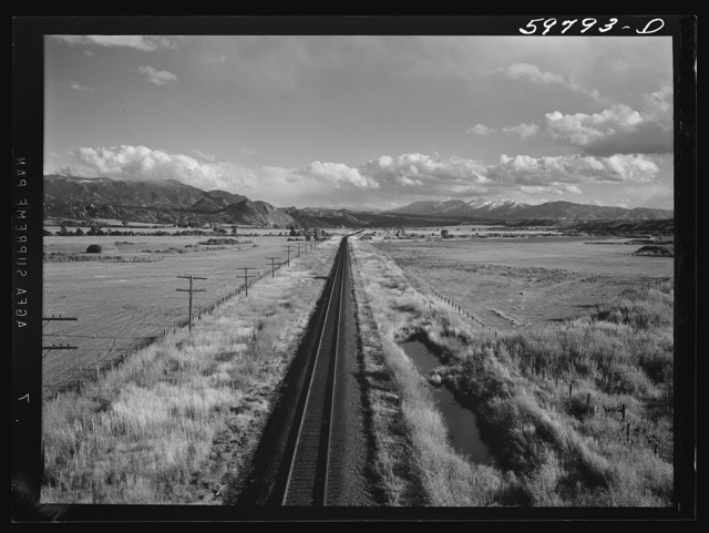 Buena Vista (vicinity), Colorado. The Sawatch mountains