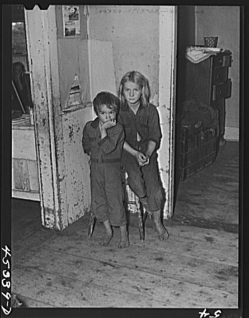 Charles and Charlotte Sampson. The Sampsons are moving out of the Pine Camp expansion area to a new farm obtained through the New York Defense Relocation Corps. Near Sterlingville, New York