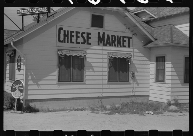Cheese market on U.S. 41, Kenosha County, Wisconsin