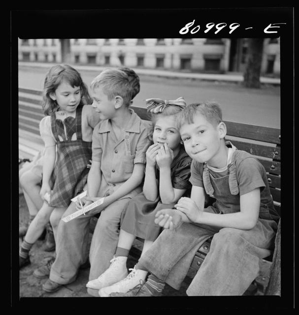 Children of the mill workers of Holyoke, Massachusetts