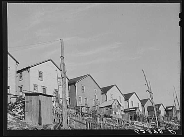 Company houses. Midland, Pennsylvania
