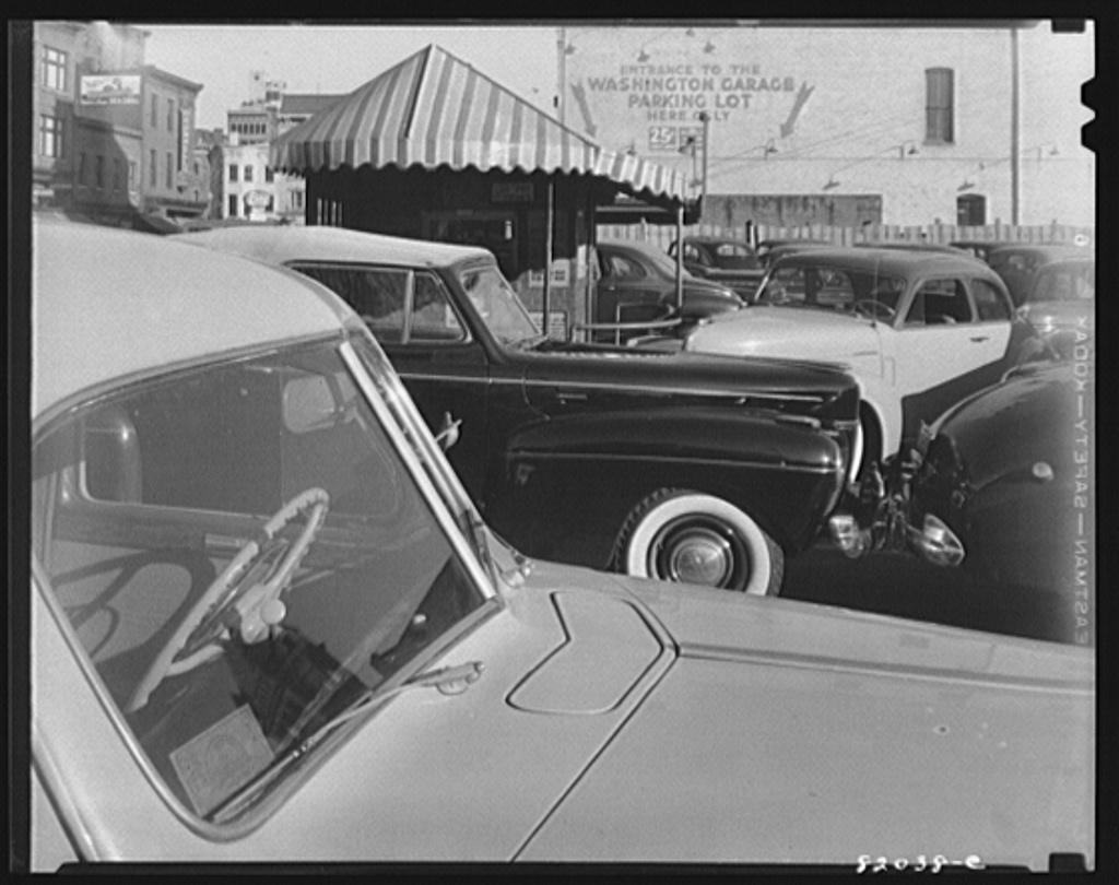Congested parking lot. Washington, D.C.