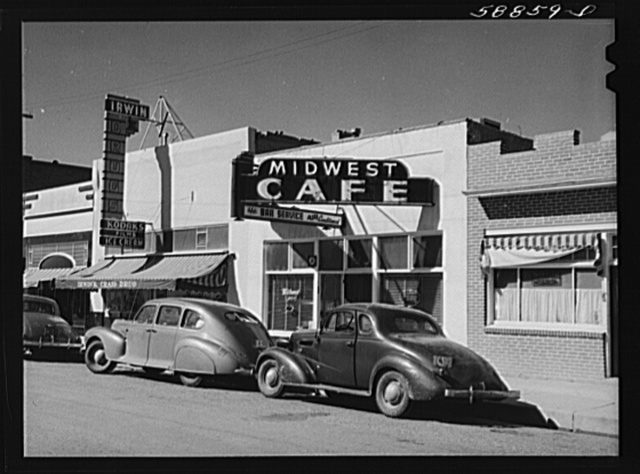 Craig, Colorado. Main street