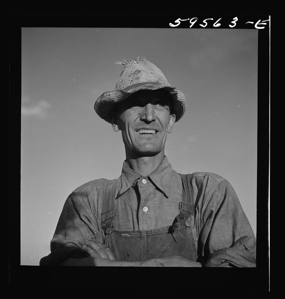 Elmer A. Colpitts, on the board of directors of thecooperative association of Scottsbluff Farmsteads, a FSA (Farm Security Administration) project. He came from the land use area around Crawford, Nebraska, which is extremely dry land and no irrigation, in 1938. He works only on the co-op. Scottsbluff, Nebraska