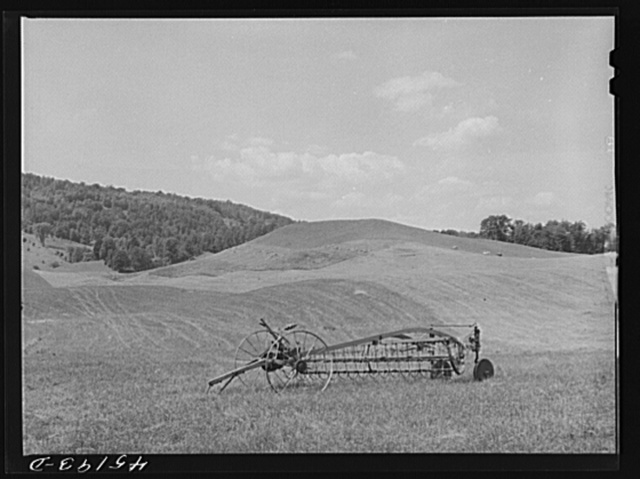 Farm landscape near Bellows Falls, Vermont