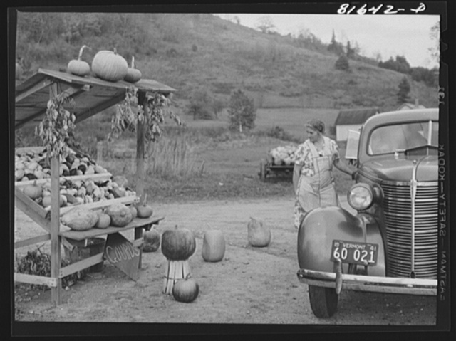 Farmers along the Mohawk Trail depend on the tourist for much of their profit. Massachusetts