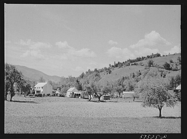 Fertile farmland in the Shenandoah Valley, Virginia