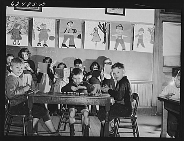 First grade, public school. Norfolk, Virginia