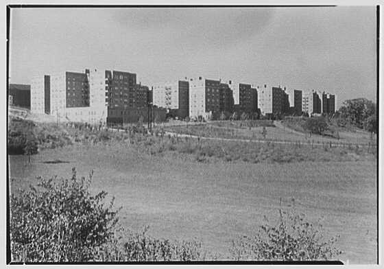Forest Hills South, Forest Hills, Long Island. General view of group from parkway II