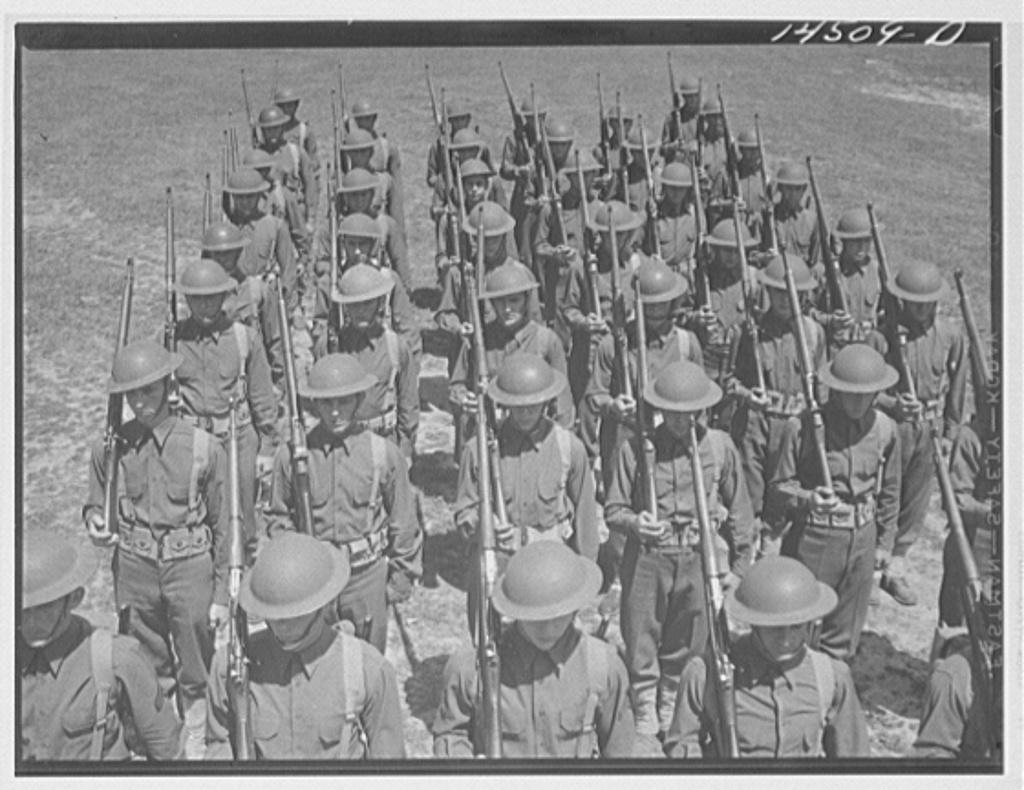 Fort Belvoir, Virginia. Soldiers