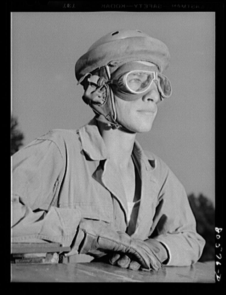 Fort Belvoir, Virginia. Tank driver
