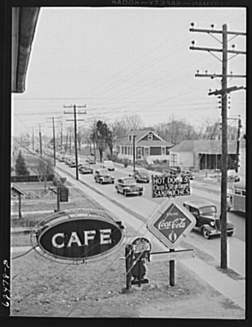 Four o'clock traffic. Norfolk, Virginia