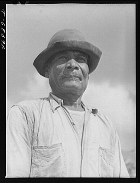 Frederiksted (vicinity), Saint Croix Island, Virgin Islands. FSA (Farm Security Administration) borrower