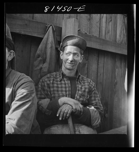 French-Canadian stevedores. Oswego, New York