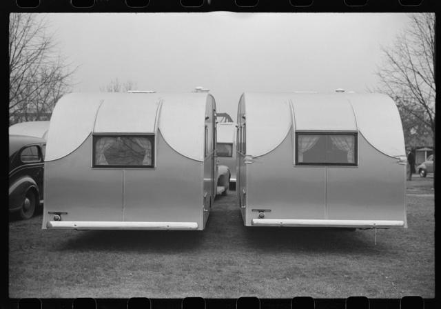 FSA (Farm Security Administration) trailers, Washington, D.C. tourist camp