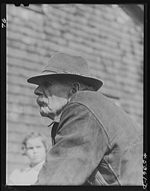 George Drake, who is eighty-five, who lived on his farm in the Pine Camp expansion area for sixty-nine years, must move out. New York