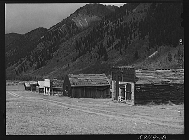 Ghost mining town. Ashcroft, Colorado