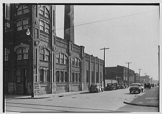 Greater New York Brewery Inc., 501 First Ave., New York City, Cypress Ave., brewery & vicinity. No. 4, east side Hancock, from Cypress Ave.