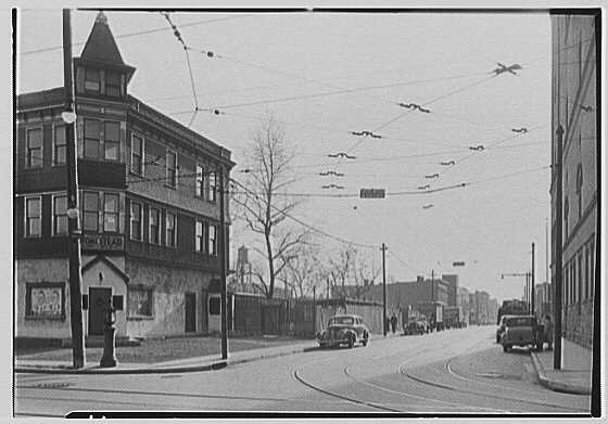 Greater New York Brewery Inc., 501 First Ave., New York City, Cypress Ave., brewery & vicinity. No. 3, east side Weirfield, from Cypress Ave.