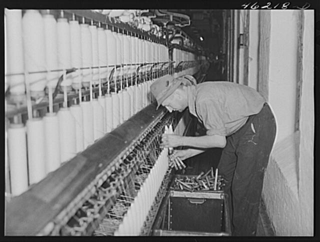 Greensboro, Georgia. In the Mary-Leila cotton mill