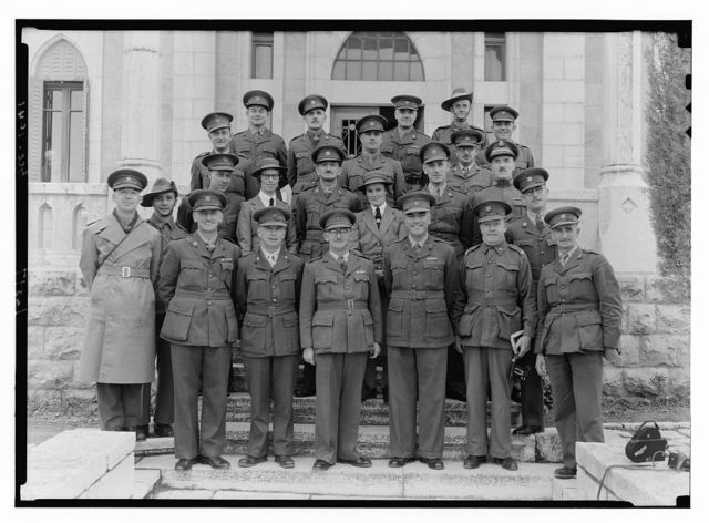 Group of Australian Salvation Army officers (Commissioner Satchell) taken at Miss Radford's mission house, Dec. 12, 1941