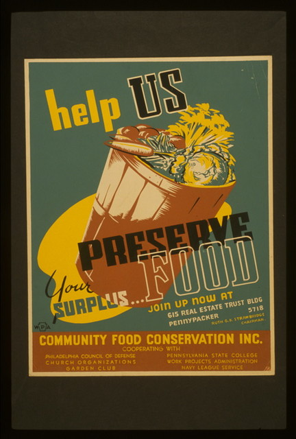 Help us preserve your surplus...food