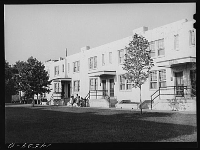 Hopkins Place housing project. Washington, D.C.
