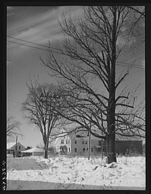 House in the Armenian settlement in West Andover, Massachusetts