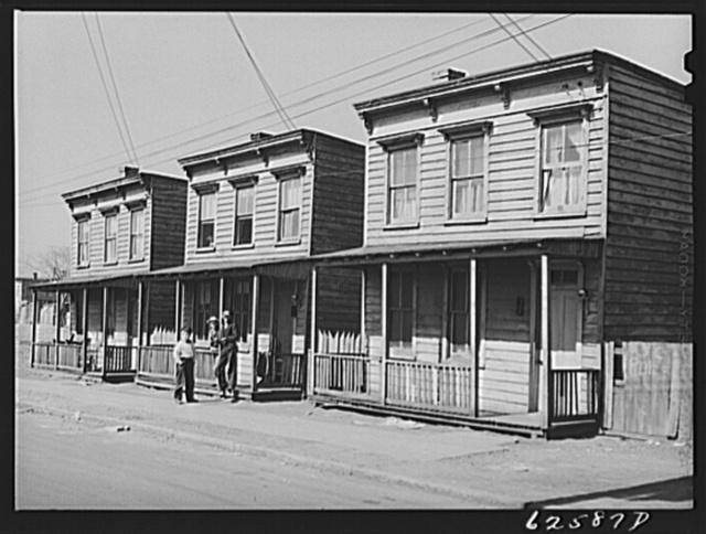 Houses occupied by defense workers. Norfolk, Virginia
