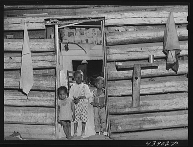 In the home of Mr. Frank Cunningham, Negro FSA (Farm Security Administration) borrower and renter. South of Franklin, Georgia, Heard County