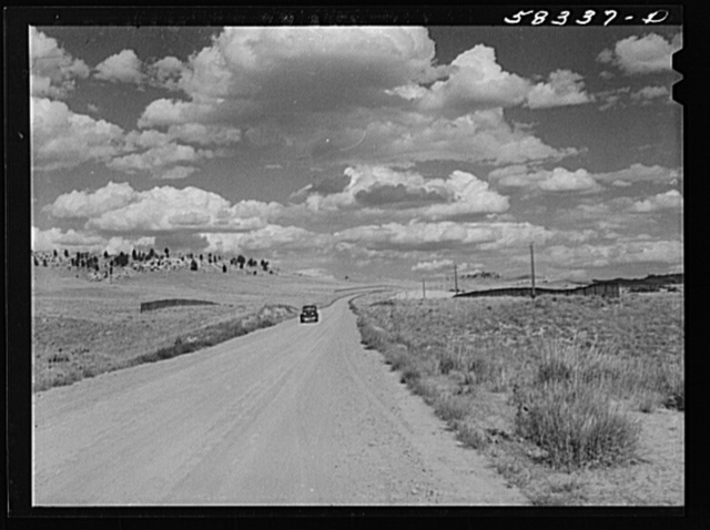 Indian reservation land near Crow Agency, Montana