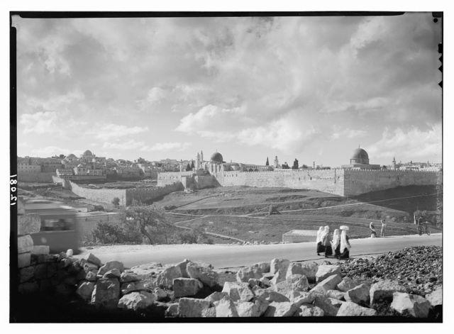 Jer. [i.e., Jerusalem] from the Jericho road