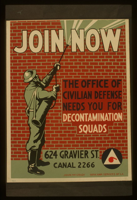 Join now The office of civilian defense needs you for decontamination squads / / John McCrady.