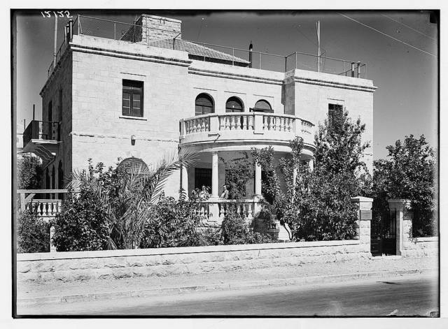 Lady McMichael [i.e., MacMichael] House (Knights of St. John's Br. Red Cross, convalescent house for officers). Gen[eral] view of the bldg. [i.e., building]