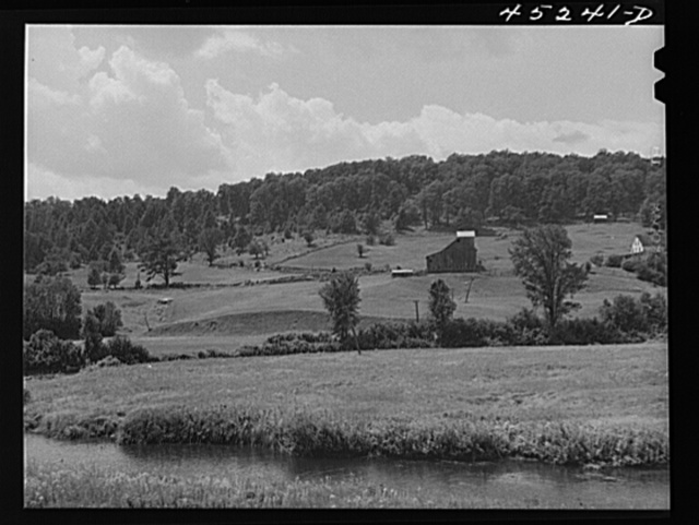Landscape near South Londonderry, Vermont