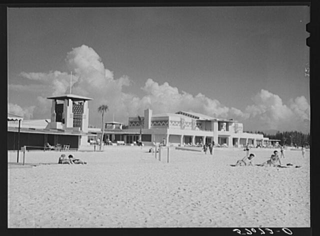 Lido Beach casino. Sarasota, Florida