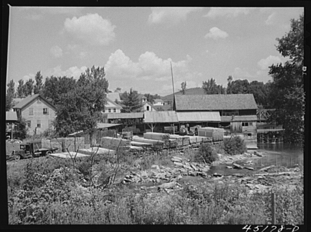 Lumber mill at Londonderry, Vermont