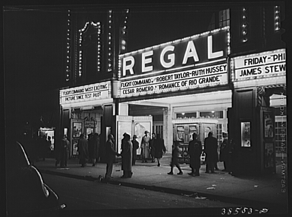 Movie theater  Southside, Chicago, Illinois - PICRYL Public