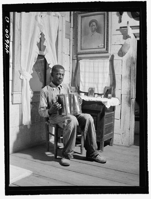 Mr. Cicero Ward, Negro FSA (Farm Security Administration) client. Southern Greene County, Georgia