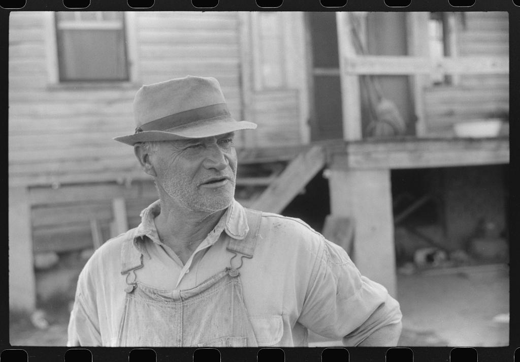 Mr. E.A. Marcus, FSA (Farm Security Administration) borrower in Woodville, Greene County, Georgia