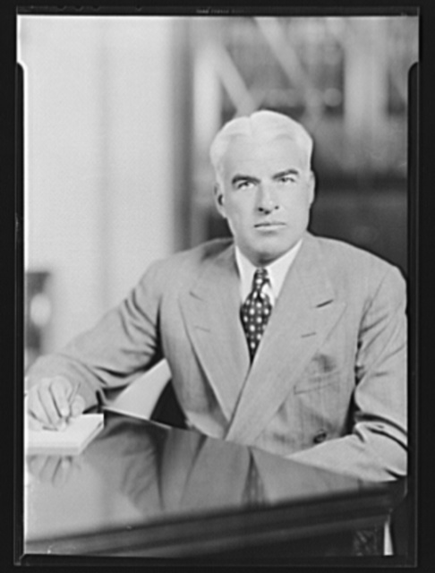 Mr. Edward R. Stettinius, Jr., former director, Priorities Division, OPM (Office of Production Management), and currently (Sept. 2, 1941) lend-lease administrator