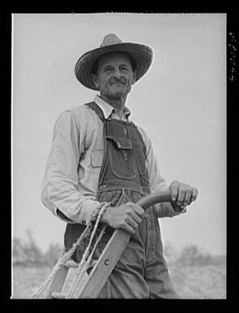 Mr. V. R. Jackson, farmer. Sent nine children through college on his fifty-four acres. Heard County, Georgia