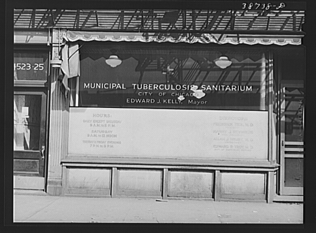 Municipal tuberculosis sanitarium, Chicago, Illinois, provides treatment to Negroes