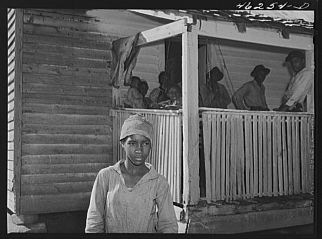Oakland community, Greene County, Georgia. One of the children of Gus Wright, FSA (Farm Security Administration) family