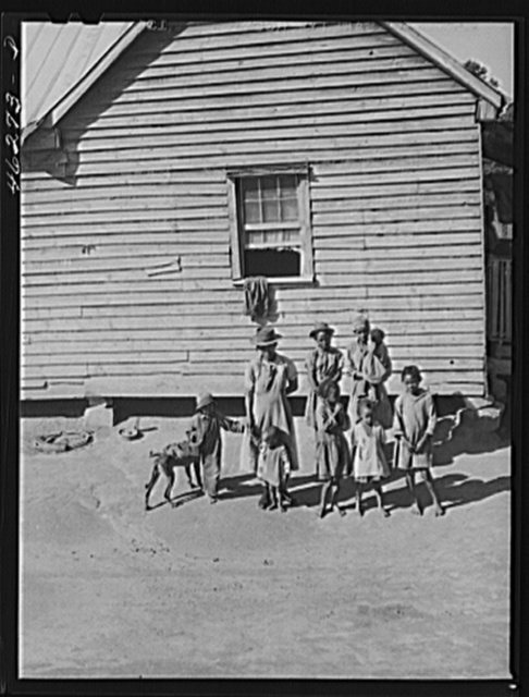 Oakland community, Greene County, Georgia (vicinity). The family of Gus Wright, FSA (Farm Security Administration) client