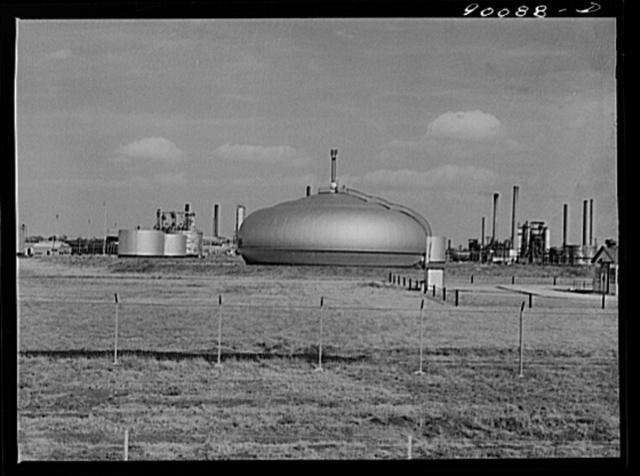 Oil refinery. Augusta, Kansas. White Eagle Division of Mobil Gas