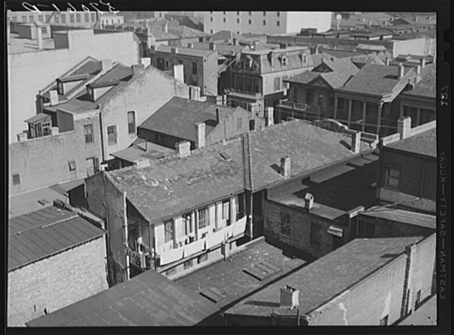 Old buildings in New Orleans, Louisiana