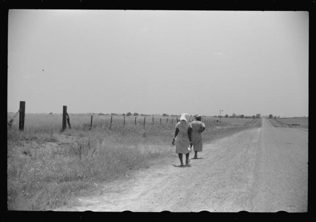 On a road near Eutaw, Alabama