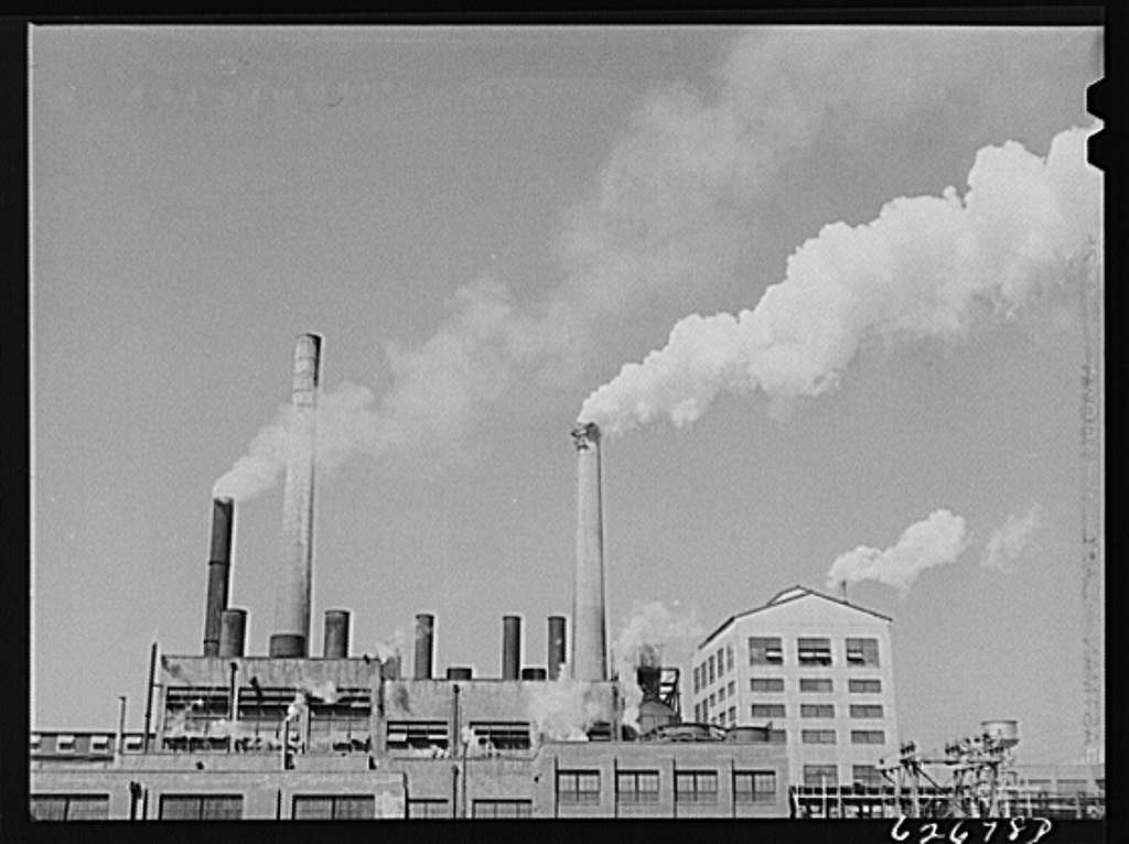Paper mill. West Point, Virginia